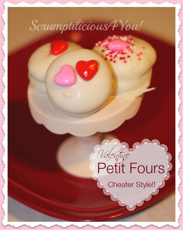 Petit Fours easy recipe