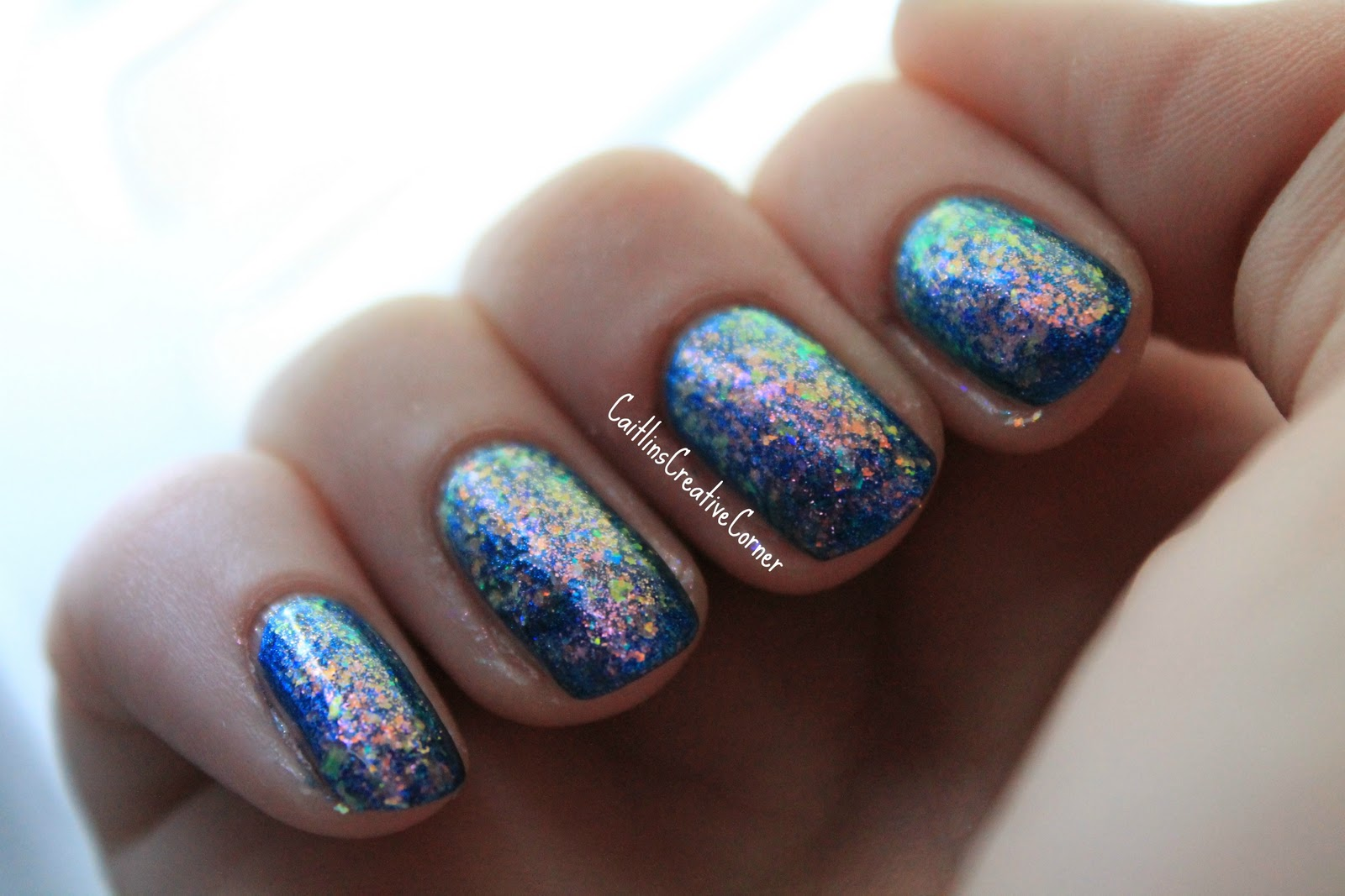 download this Rainbow Fish Nails Purple Crumpet Fairy Challenge picture