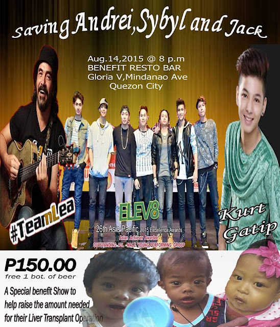 Fundraising Concert: Saving Andrei, Sybyl and Jack