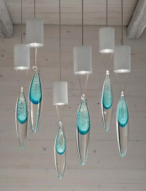 Lamparas Para Baño Easy:Lámparas con forma de gotas