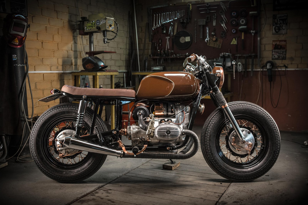 Dozer Garage Ural 650 Fashion ~ Return of the Cafe Racers