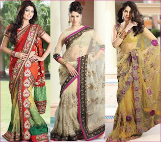 models adds in saree