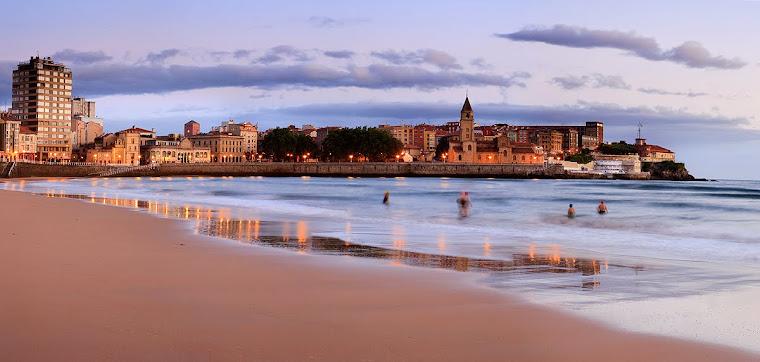 Gijón, España. Foto tomada de avidcruiser.