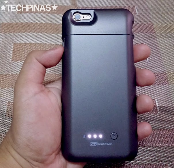 Mugen Battery Case for Apple iPhone 6