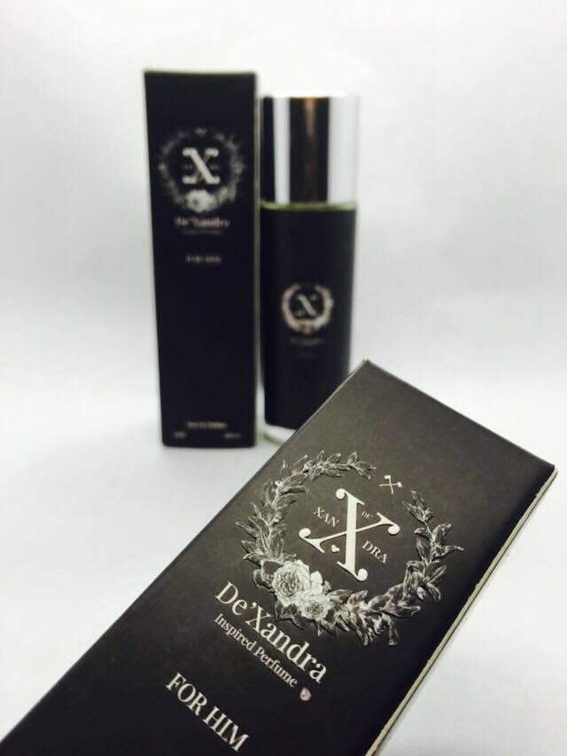 De Xandra Perfume Inspirasi jenama antarabangsa yang halal dan tahan lama