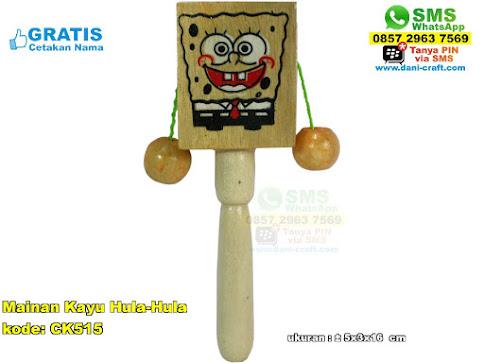 Mainan Kayu Hulahula