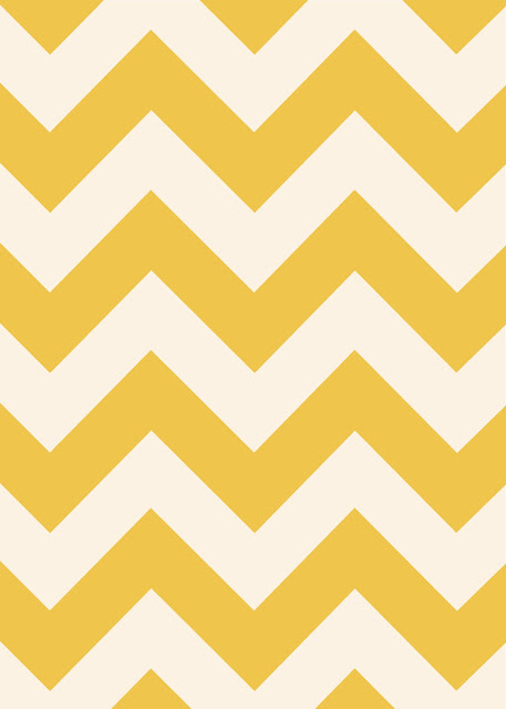 Chevron Wall Art by Isn't that Sew