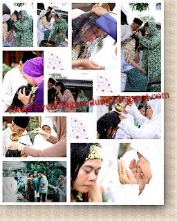 Fot acara siraman pengantin adat sunda