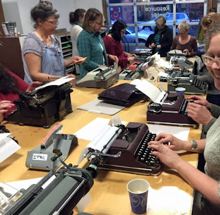 typewriters going strong - pdxcc club