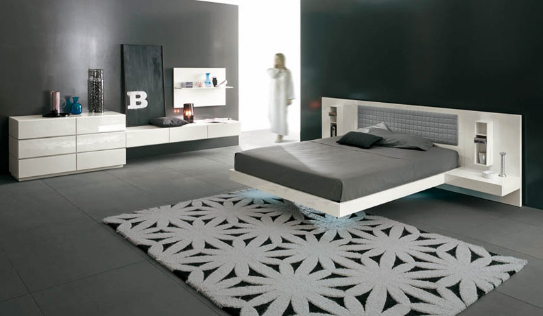 interieur maison moderne design chambre coucher. Black Bedroom Furniture Sets. Home Design Ideas