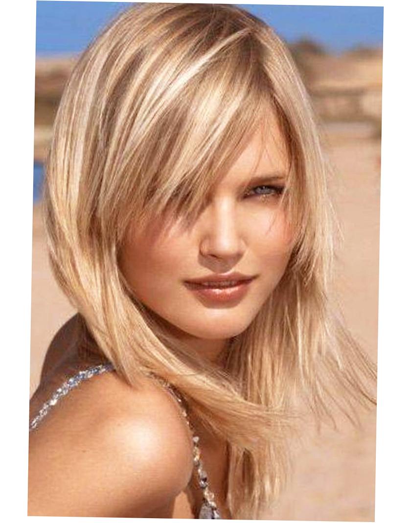 Фото стрижек на средние волосы с мелированием