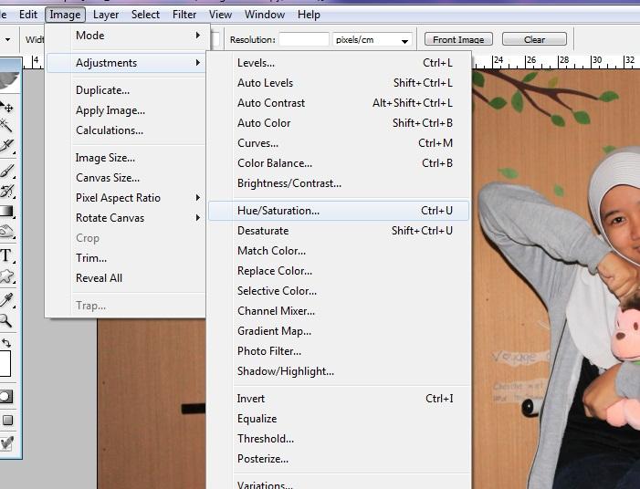 Cara Memberi Background Hitam Putih Dengan Adobe Photoshop