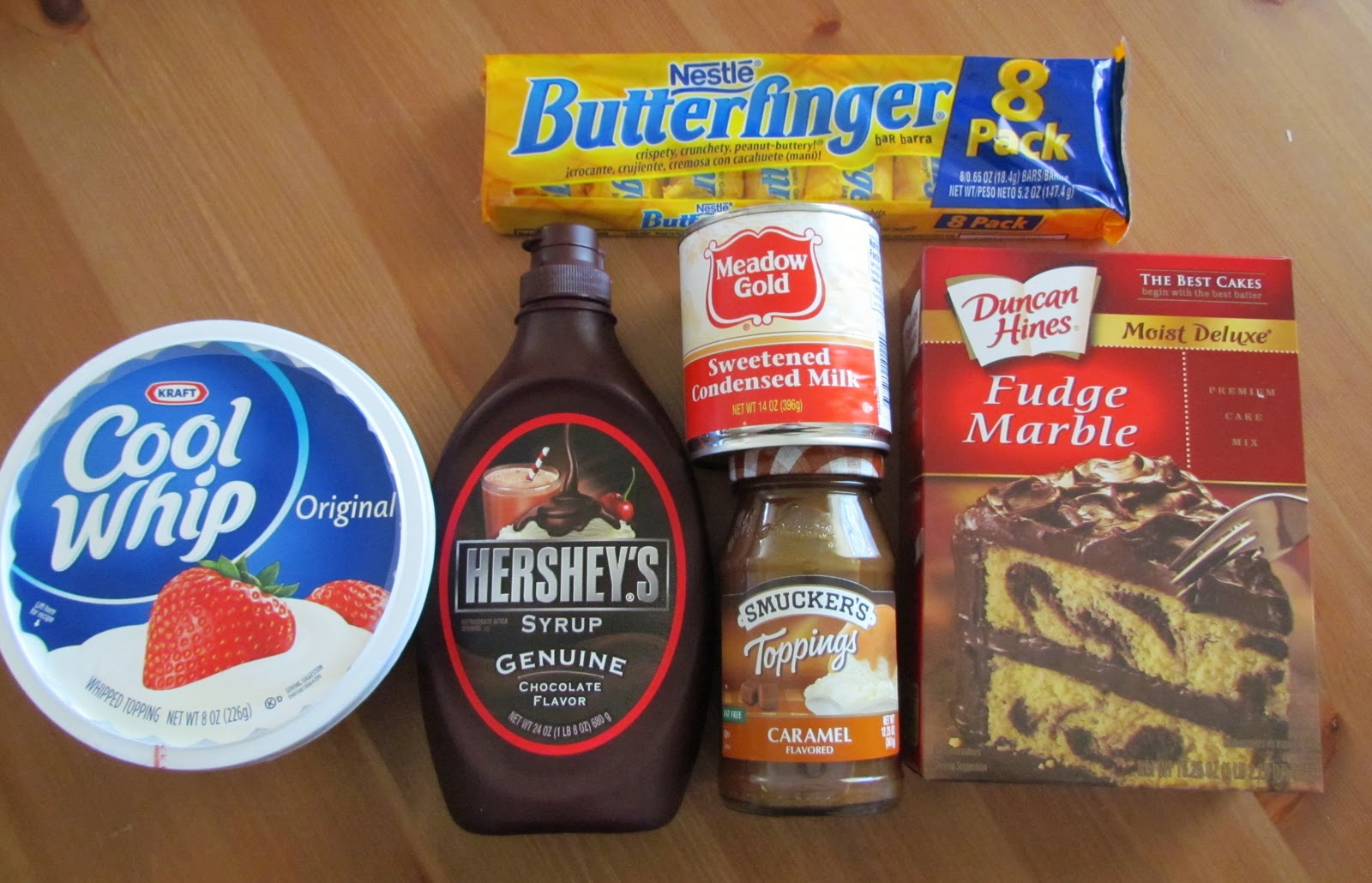 Butterfinger cake recipe with chocolate cake