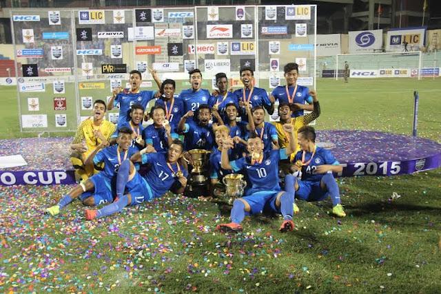 Subroto Cup 2015: AIFF U-17 team win the title