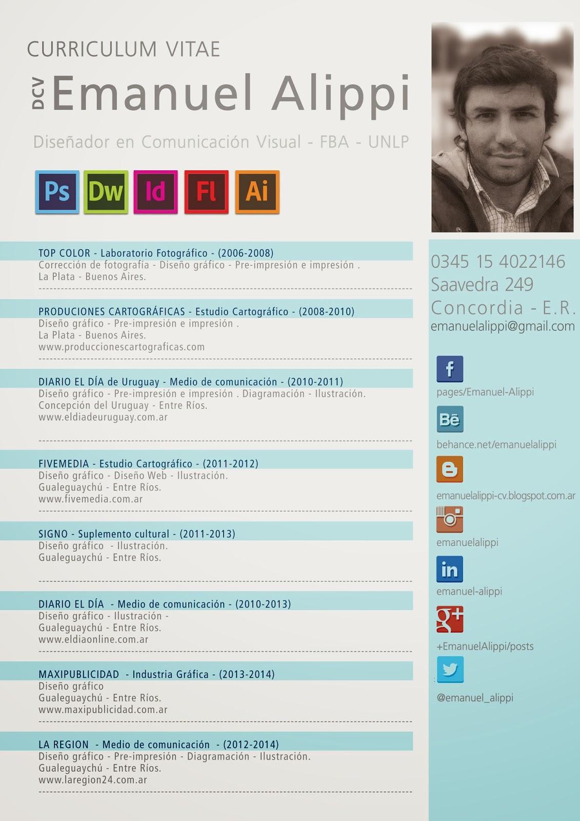 Curriculum Vitae | Trabajos Realizados