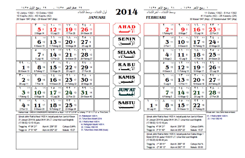 Kalender 2012 Kalender 2013 Kalender 2014