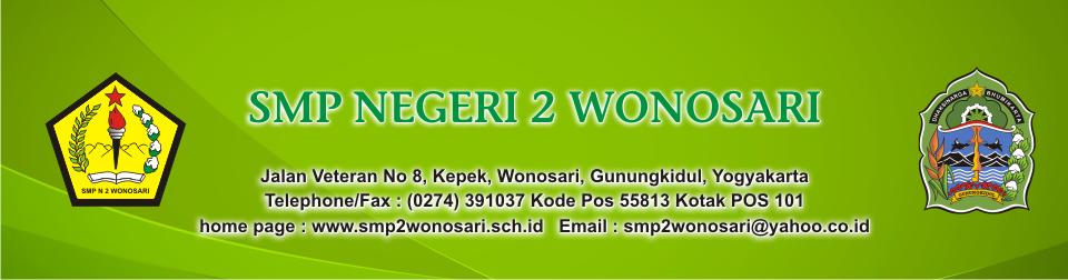 Blog SMP Negeri 2 Wonosari Kabupaten Gunungkidul Prov. DI Yogyakarta