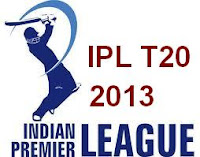Indian Premier League - IPL T20, 2013 Live Cricket Streaming Video Score HD Online Sports TV Sony Six Max, Star Cricket, Sky Sports HD Cricket Channels.