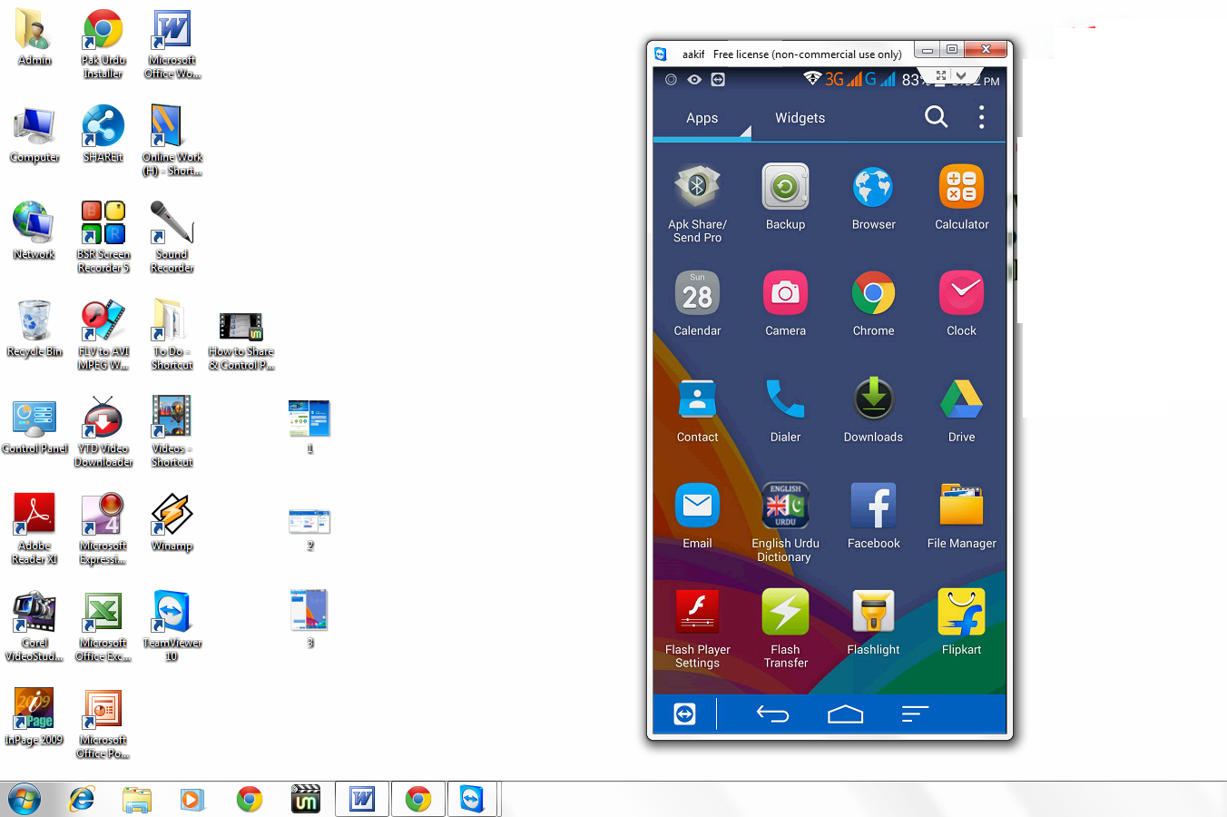 How to Share & Control Phone Screen in Desktop (No Root & USB)