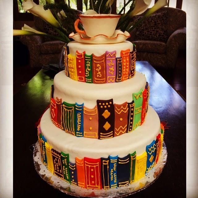 Birthday Cake Like A Book