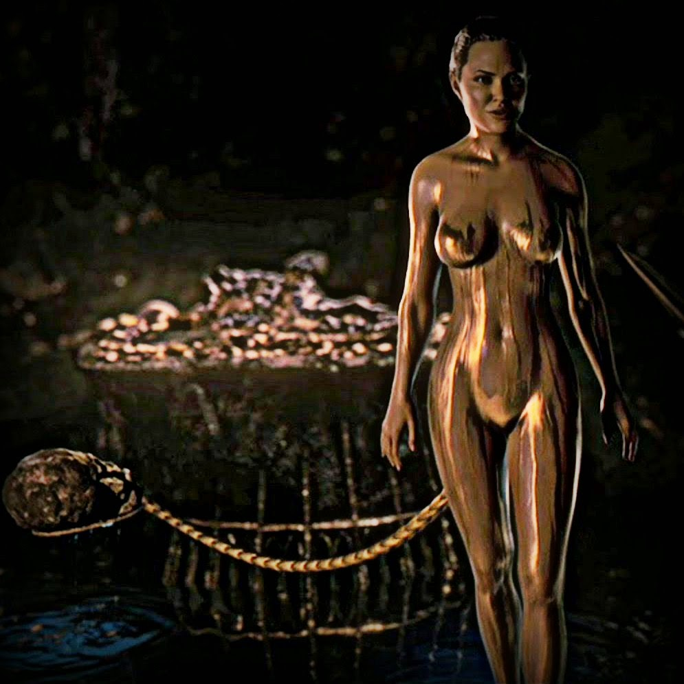 Beowulf Grendel's Mother Angelina Jolie Naked Sword Sex