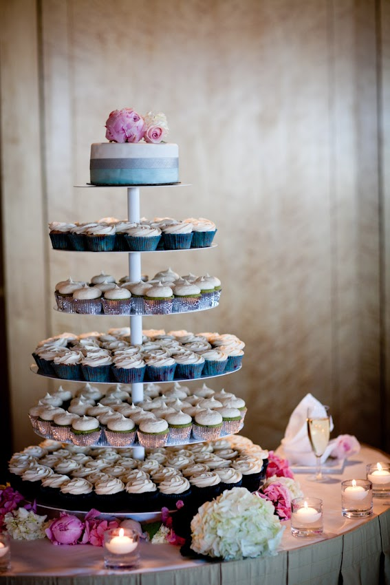 Loved Their Modern Sweet Wedding Colours As Reflected In The Mega Coco Cake Cupcake Tower And Cutting Cupcakes Were Berry Good
