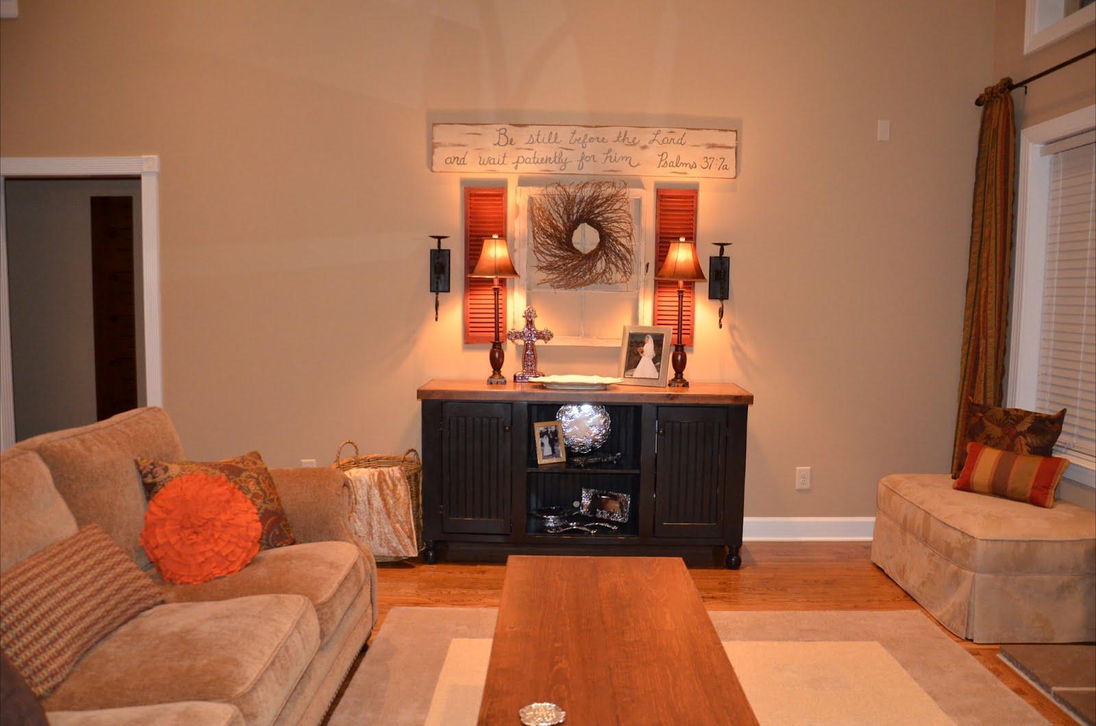 Warm Rustic Living Room Ideas: Anna Berry Design: Rustic Warm Living Room