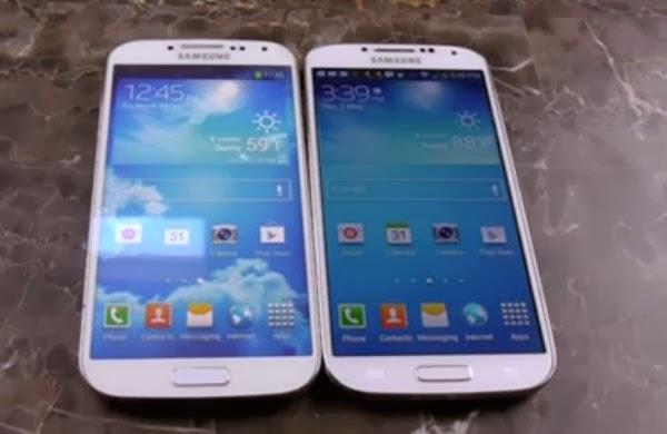 """tidak tertipu dengan produk Samsung Galaxy S4 """"Supercopy"""" alias PALSU ..."""