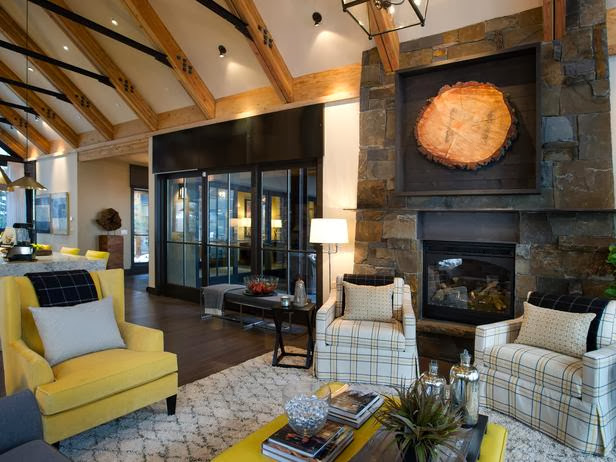 Modern Furniture Hgtv Dream Home 2014 Living Room Pictures