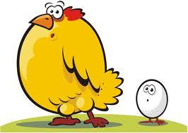 Gallo gallina reproduccion asexual en