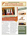 Restorative Yoga and Hypertension