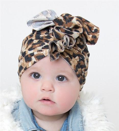 model turban bayi dan anak perempuan terbaru 2017/2018