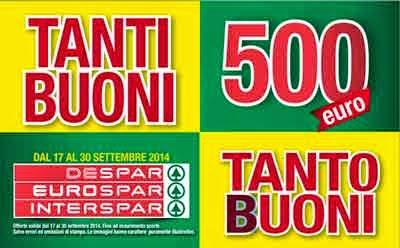 buoni sconto 500 euro