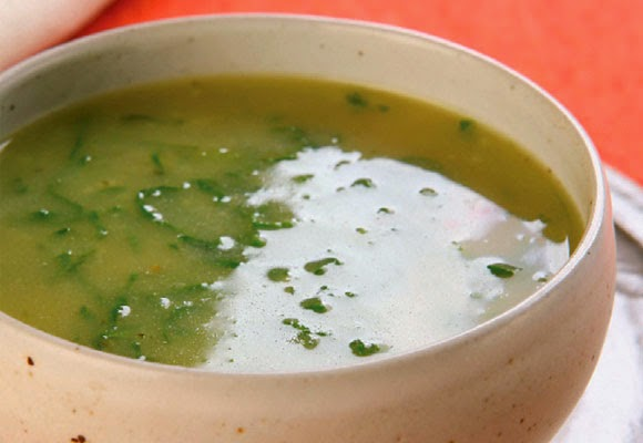 Sopa de legumes detox light
