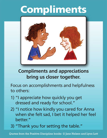 Compliments Kids Can Give Eachother