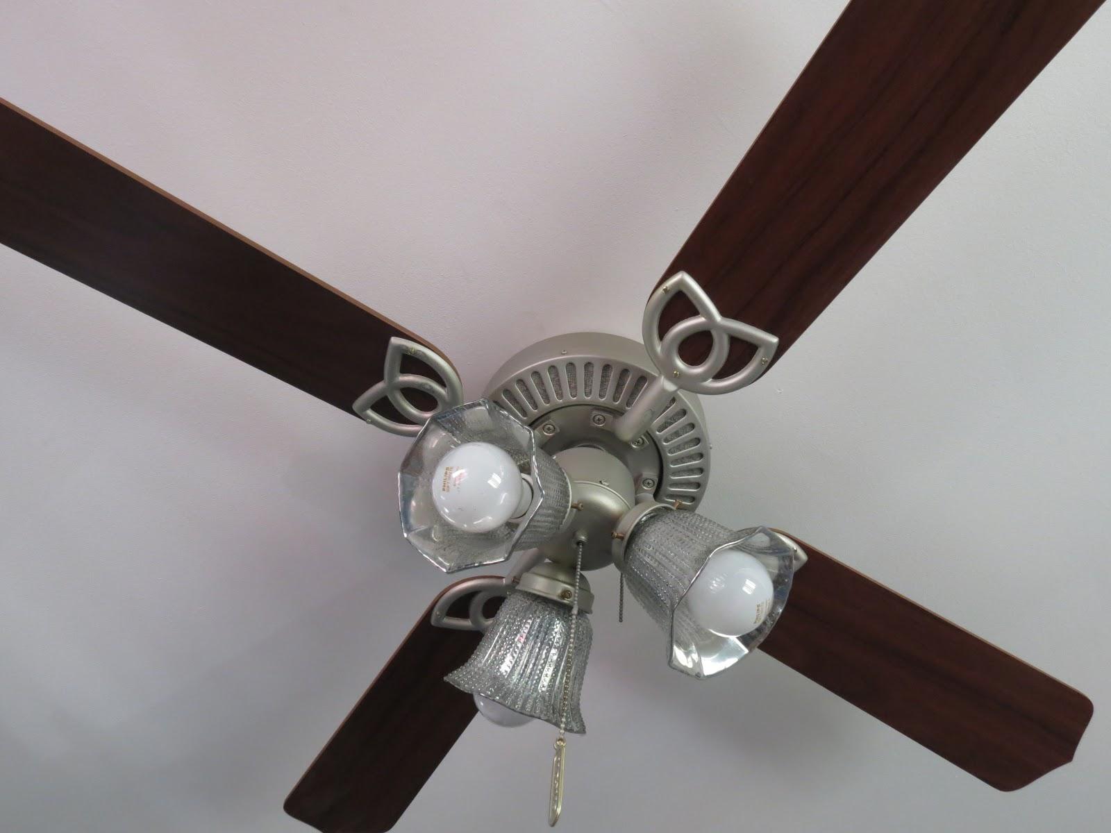 Diy Ceiling Fan : Walks like rain serious upcycle ceiling fan update diy