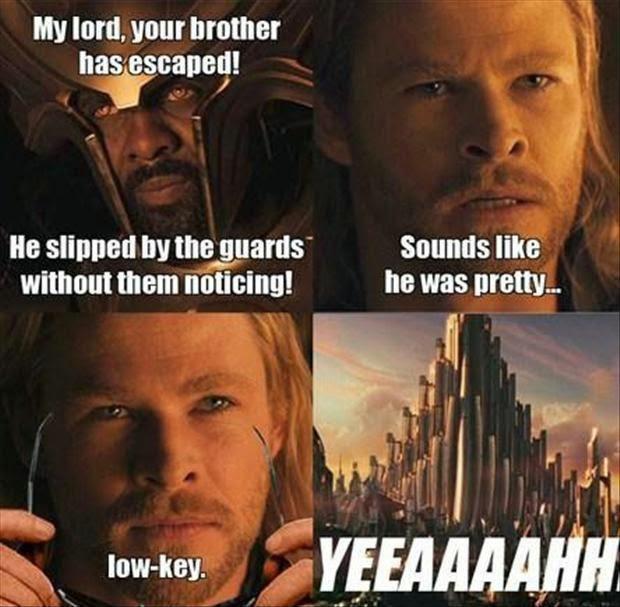 Thor CSI: Miami meme low-key