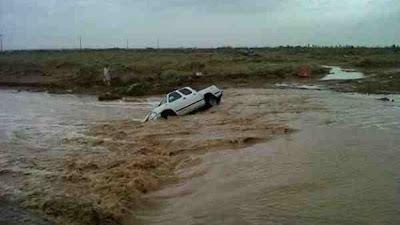 Las peores inundaciones en 25 años en Arabia Saudi, 01 de Mayo 2013