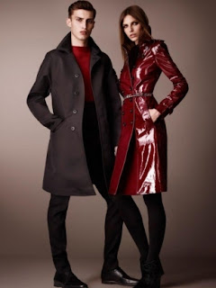 Burberry 2013 parti elbiseleri koleksiyonu erkek/kadın