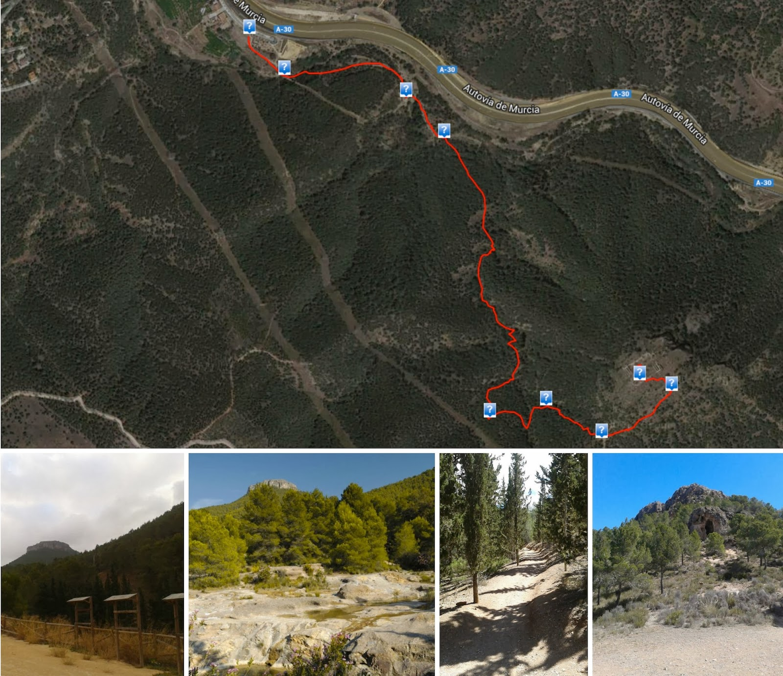 Mapa Ruta Asomada
