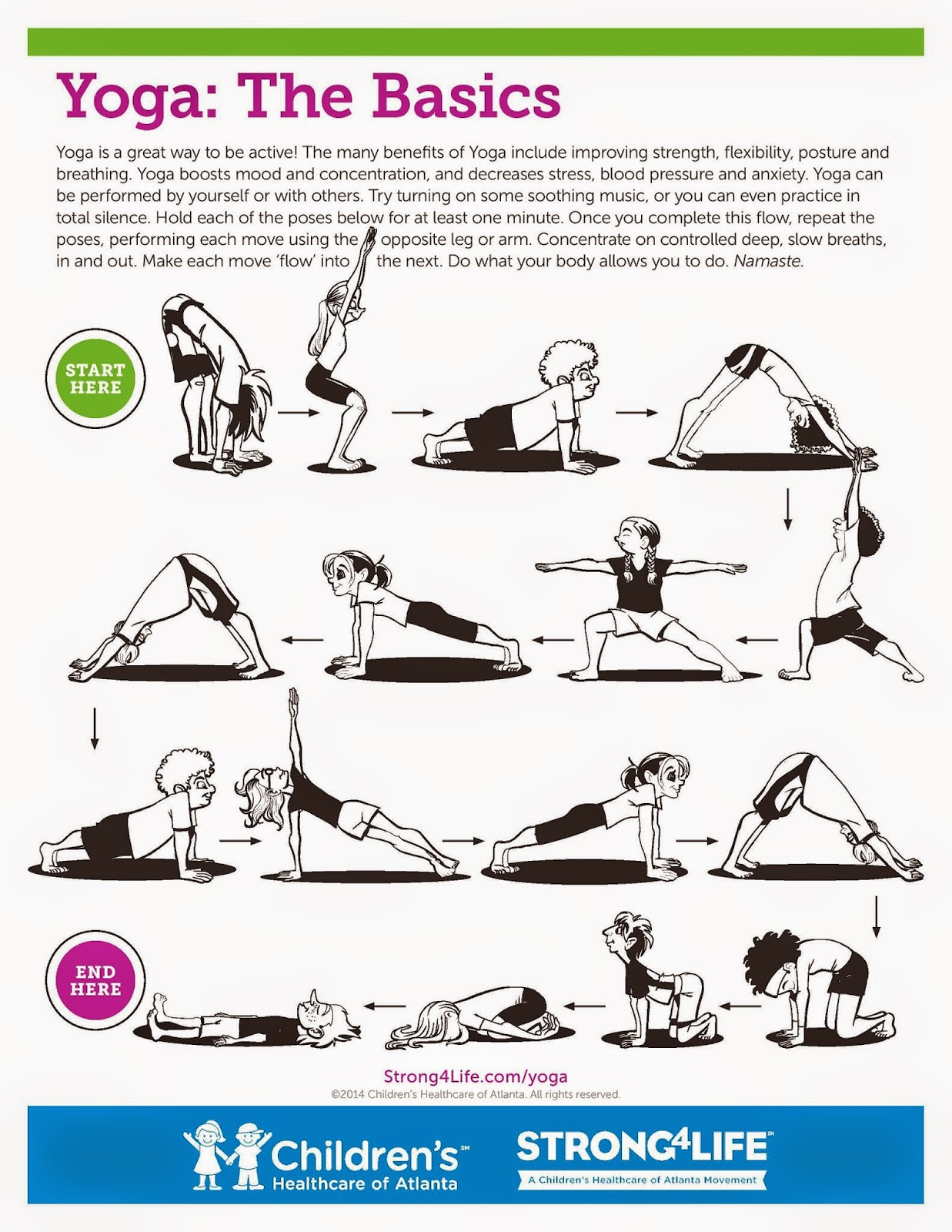 yoga routine for beginners pdf