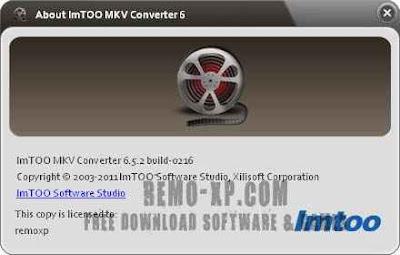 ImTOO MKV Converter  6
