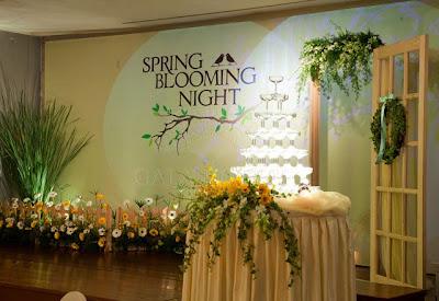 Spring Blooming Night. Gala Royale, Saigon (Ho Chi Minh), Vietnam