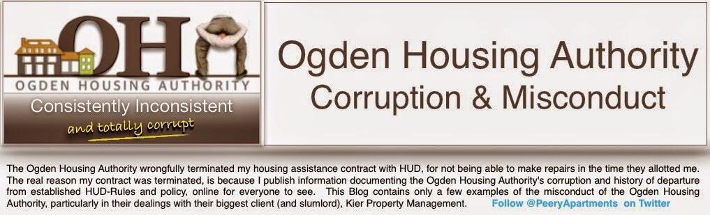 Federal Housing Corruption in Ogden, Utah