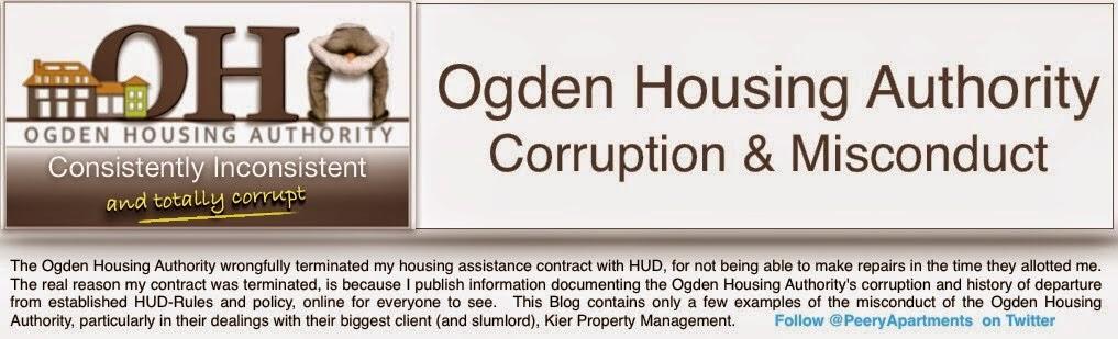 Federal Housing Corruption in Ogden, Utah