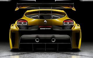 Renault Megane Trophy Back
