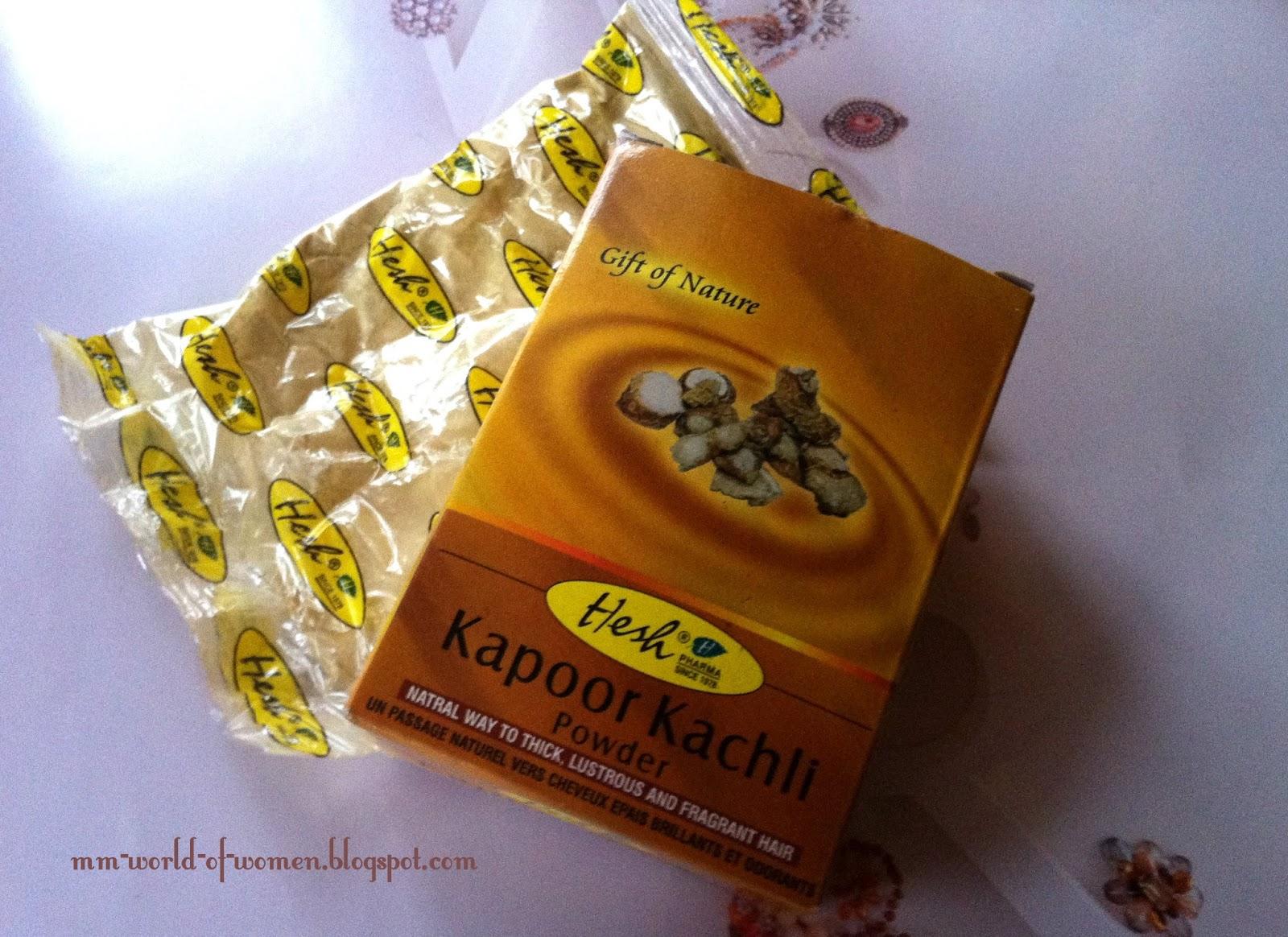 Hesh Kapoor Kachli , czyli kolejny puder na mej głowie.