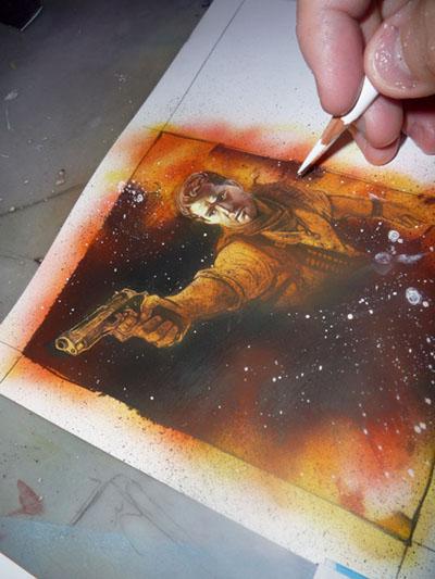 Uncharted 3, Art by Jeff Lafferty