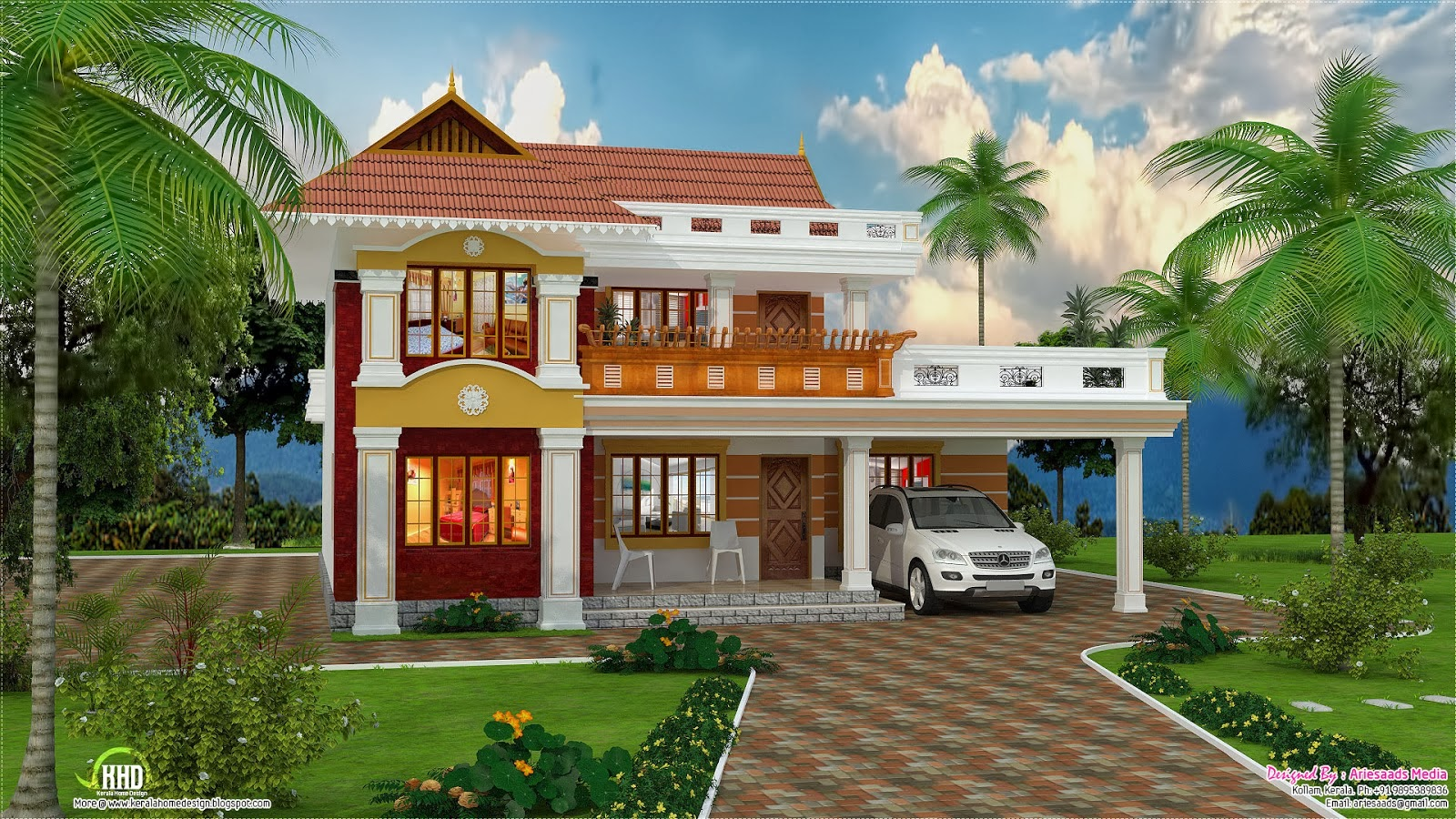 Beautiful house hd wallpaper beautiful desktop for Home wallpaper chennai