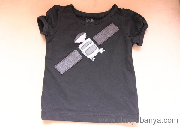 Baby satellite T-Shirt fancy dress outfit